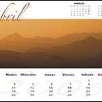 Calendario de Rafa Irusta (abril)