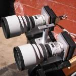 Dos Canon 200 f/1.8 para descubrir un planeta
