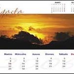 Calendario de Rafa Irusta (agosto)