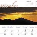 Calendario de Rafa Irusta (septiembre)