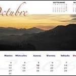 Calendario de Rafa Irusta (octubre)