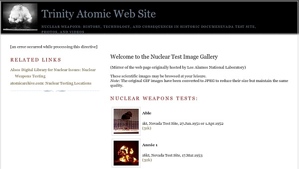 Atomic Web Site