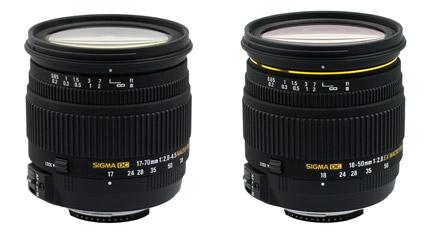 Nuevos Sigma Nikon.