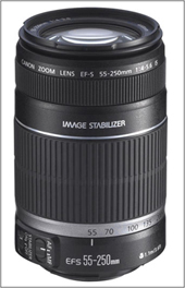 Canon 55-250 EF-S IS.