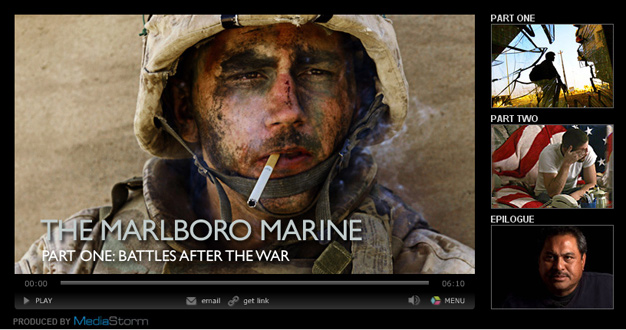The Marlboro Marine, part one.