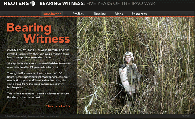 Reuters-Bearing Witness