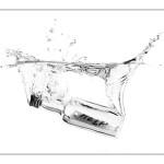 """Técnica fotográfica: bodegón """"acuático"""""""