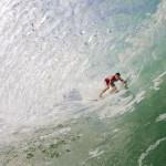 Fotografía de surf: Tubos desde el agua