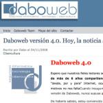 Daboweb se renueva, ya está en marcha la 4.0