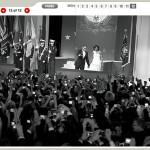 Elliott Erwitt fotografió la investidura de Obama para Newsweek