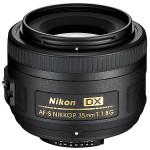 Nueva lente Nikkor AF-S 35 f:1.8 G DX