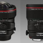 Canon añade 2 nuevas lentes: 17 y 24mm TS-E a su gama.