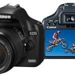 Canon presenta la nueva EOS 500D