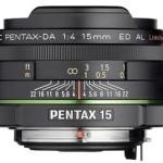Nueva lente Pentax DA 15mm f:4
