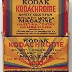 El Kodachrome se nos va…