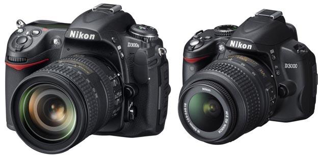 Nikon D300s D3000