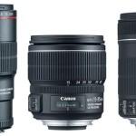 Canon presenta tres nuevos objetivos