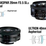 Voightländer Ultron 40 f:2 y Color Skopar 20 f:3.5 disponibles para Canon