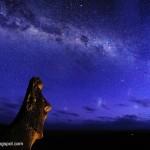 El paisaje estrellado. Astrofotografía por Manel Soria
