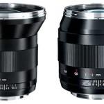 Zeiss 21, 28 y 35mm disponibles para Canon EOS