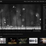 La web 1x.com y sus galerías.