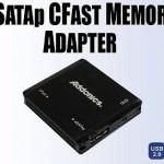 Lector de tarjetas eSATA para las nuevas CFast