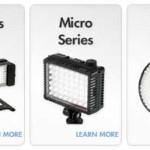 La iluminación con LED llega al estudio fotográfico