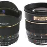 Samyang 8mm f:3.5 y 85mm f:1.4 para montura 4/3