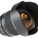 Falcon/Samyang 14mm f:2.8 a la venta en abril