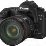 Actualización de firmware para la Canon EOS 5D markII