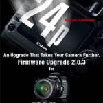 Canon advierte de problemas con el firmware nuevo de la EOS 5D mk II