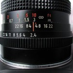 Objetivos manuales con cámaras modernas