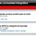 La web de Caborian ya tiene versión para el móvil.