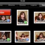 Como usar el iPad para descartar fotos en las tarjetas