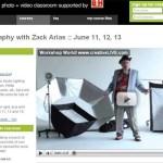 Taller gratuito y online de fotografía de estudio con Zack Arias este fin de semana