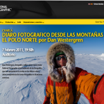 Dan Westergren y Sadie Quarrier en la National Geographic Store de Madrid