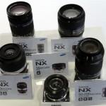Samsung anuncia 5 nuevas lentes para su sistema sin espejo NX
