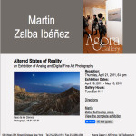 Martin Zalba Ibáñez : «Alterd states of Reality» en la Agora Gallery de New York