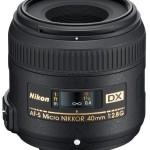 Nuevo Micro Nikkor 40mm f:2.8 DX