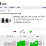 Tickfoto, web de alquiler de equipo fotográfico