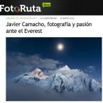 [Fotógrafos] Javier Camacho: entrevista en Fotoruta y resumen de su nuevo audiovisual