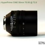 SLR Magic anuncia un objetivo normal ultraluminoso y un telescopio