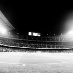 Cómo es fotografiar en el Camp Nou como fotógrafo oficial al lado de Messi