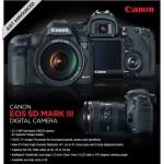 Y ya anunciada la nueva EOS Canon 5D Mark III