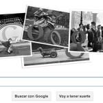 Google Doodle del aniversario del nacimiento de Robert Doisneau