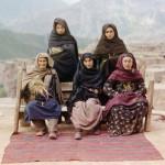 Fotografías en color con filtros RGB hace un siglo