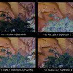 Sombras/iluminaciones en Lightroom 4