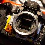 Desmontando una Canon 40D