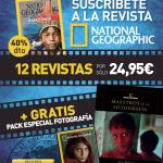 Colaboración Caborian & National Geographic por su 125 aniversario. 40 % dto y 2 regalos.