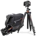 Nueva gama de trípodes y bolsas de viaje VEO de Vanguard